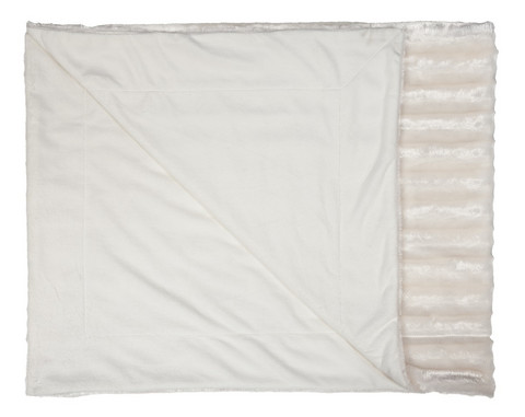 Sansa Throw White 130x160