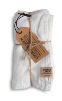 Napkin Linen off White 45x45