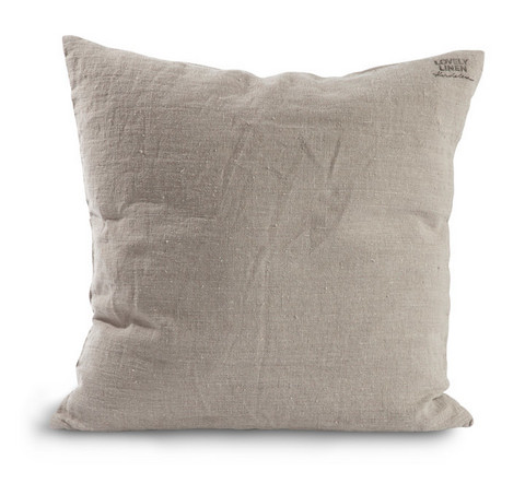 Lovely Linen Cushion cover Natural beige 47x47