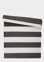 Board rug 140x200 Granite Grey/white