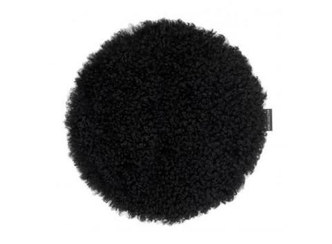 Curly Stool pad Black