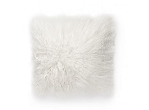 Shansi Pillow cover 40x40 White