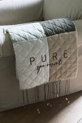 Pure Patchwork Throw 180x130