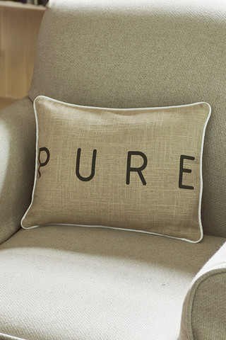 Pure Suede Pillow Cover 40x30