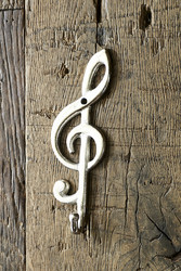 Treble Clef Music Hook