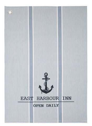 Marine Kitchen towel Blue