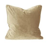 Elise Velvet Cushion Cover Light Gold 45x45