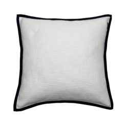 Edged Cushion 50x50 Yankee blue