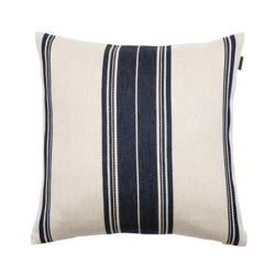 Center stripe Cushion 50x50 Yankee blue
