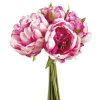 Peony bouquet dark rose