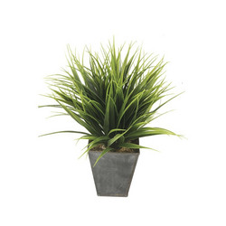 Decorative grass pot in a zinc bag 30cm