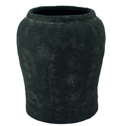 Clay pot 33x27 Black