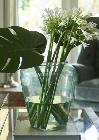 Limehouse Luster Vase green
