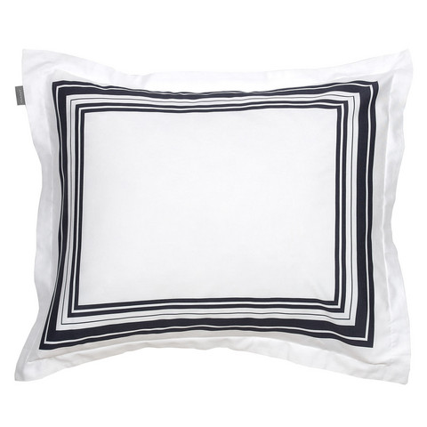 Frame Pillowcase Sateen blue