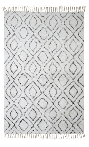 Easy Cotton carpet Offwhite 140x200