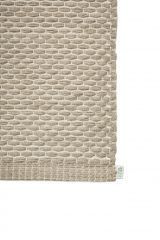 EKO Cotton paper string mat Flax-Off-White