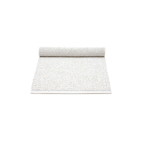 Table Runner Svea White metallic/White 36x130