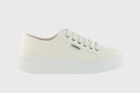 Utopia Canvas Sneaker White
