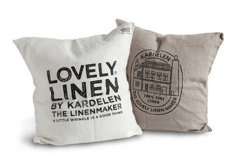 Lovely Linen Deco Cushion cover 47x47cm