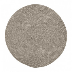 PET Braid Placemat Grey