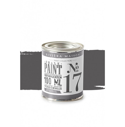 RM Chalk Paint NO17 chesapeake bay charcoal 100ML