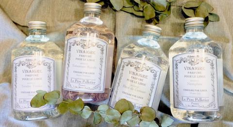 Vinaigre Parfume Pour Le Linge Vinegar for linen Cherry blossom