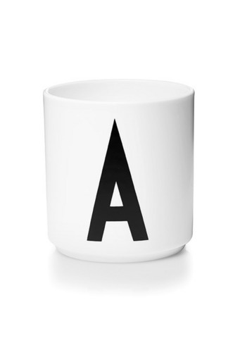 Personal Porcelain Cup white A-Z