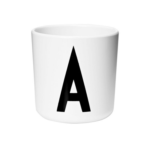 Kids Melamine Personal Cup A-Z