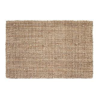 Jute rug 230x160 Natural