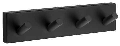House Towel Hook 178mm Black