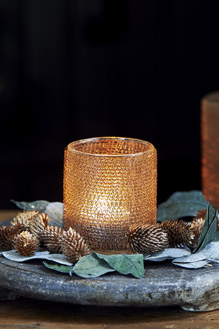 Clayton Votive copper S
