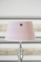 Velvet Lampshade prec. pink 15x20