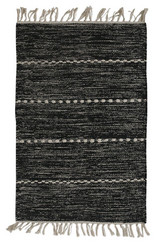 Lotten Carpet Black 70x140