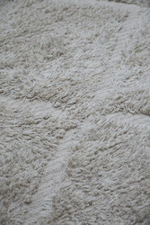Bosse cotton - wool carpet offwhite 160x230