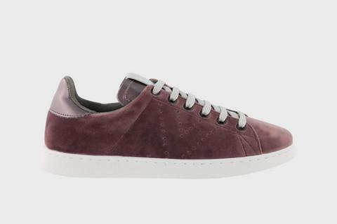 VELVET Sneaker Prune