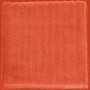 Line Towel Burnt Ochre