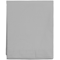 Sateen Double Bottom sheet Moon grey