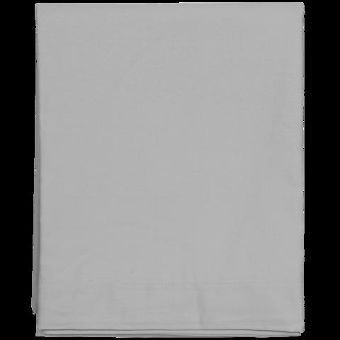 Sateen Double Bottom sheet grey
