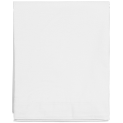 Sateen Double Bottom sheet White