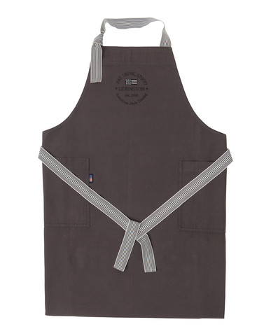 Canvas Apron High Dark Gray