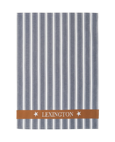 Lexington Striped Kitchen Towel Blue Multi