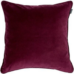 Velvet Cushion 50x50 Purple Fig