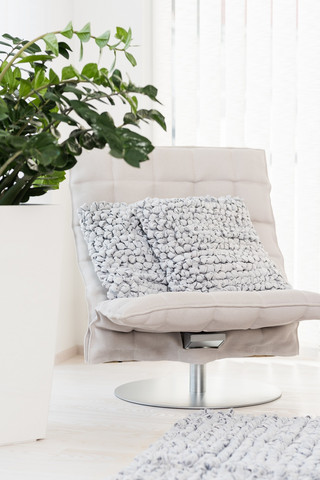 Oasis Cushion cover 50x50 Pearl grey