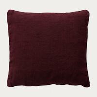 Raw Cushion cover 50x50 Dark Burgundy Red