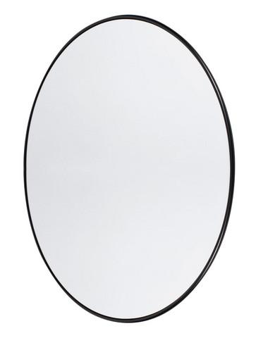 Wall Mirror Round Copenhagen S Black
