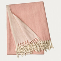 Bogart Throw 130x170 Misty Grey Pink