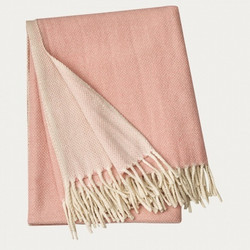 Bogart Throw 130x170 Misty Grey Pink