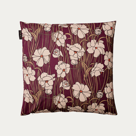 Jazz cushion cover 50x50 Burgundy Red