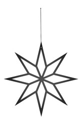 Star hanger M Black