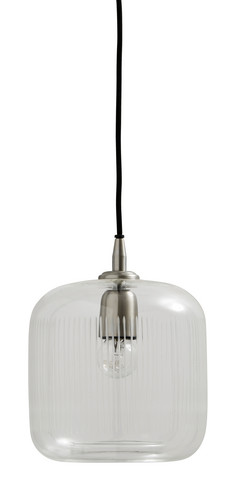 BRIGHT clear hanging lamp